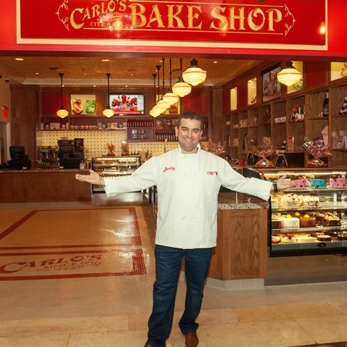 Carlo's Bakery is well-know for their extraordinary wedding cakes and specialty cakes.  Carlo's Bakery has been an institution since 1910 with several locations in New York City and New Jersey.
