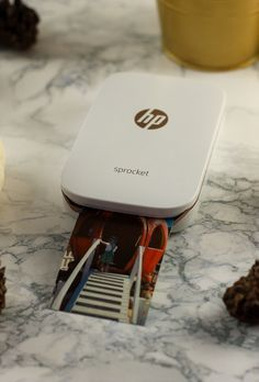 Looking for a fun new way to share your memories this fall? The HP Sprocket is an amazing new photo printer that creates snapshots AND stickers! | Create Photos from Home | DIY Photos | How to Create Pictures at Home || Lipgloss and Crayons
