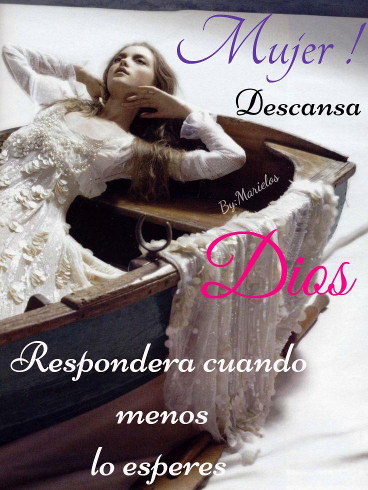 Mujer descansa de la pagina https://www.facebook.com/PrincesaConformeAlCorazonDeDios?ref=bookmarks
