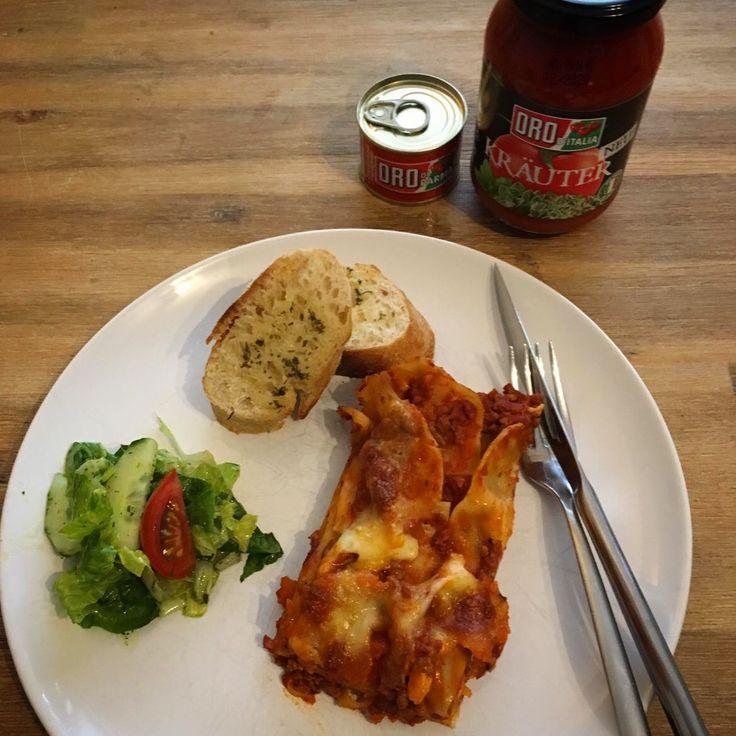 Lasagne  – Kokusbluete