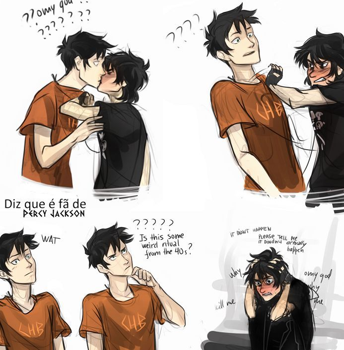 nico kissing percy honestly i180m don180t really like