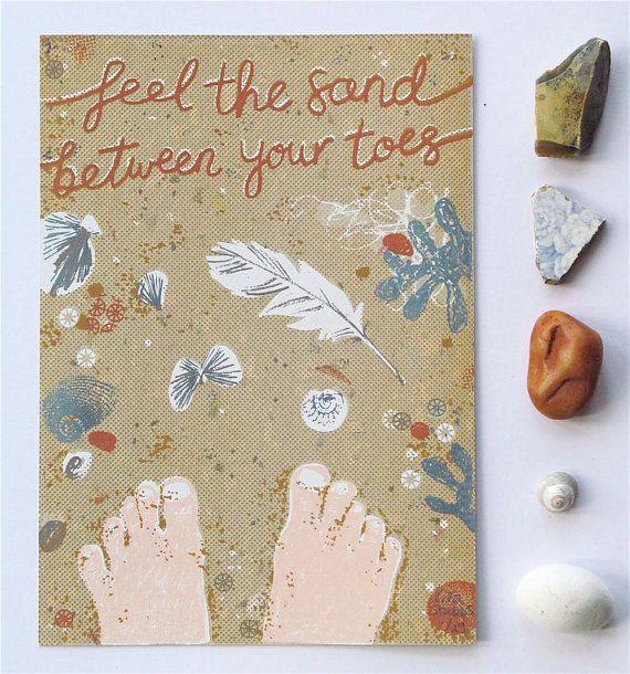 Feel the sand between your toes original screen от LilSonnySky
