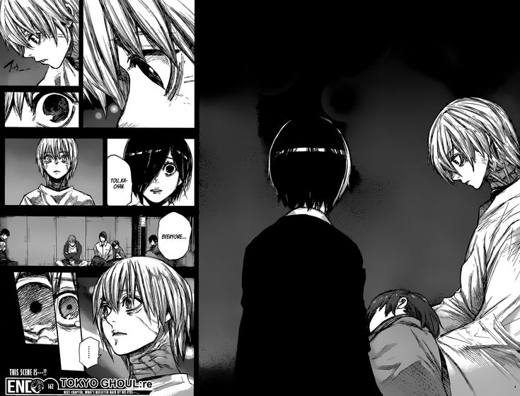 Tokyo Ghoul :re Spoilers & RAW Chapter 162 You are reading Tokyo Ghoul:re manga chapter 162 in English. Read Chapter 162 of Tokyo Ghoul:re manga online on ww3.tokyoghoulre.com for free.