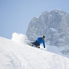 Ein Ski geht auf Tour Salomon BBR