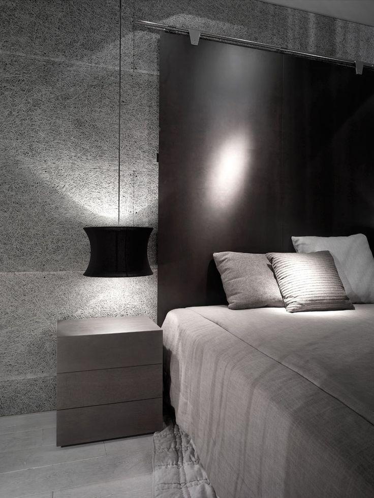 #bedroom spaces #interior design #interior design #contemporary style #inspiration - perfect bedroom lighting