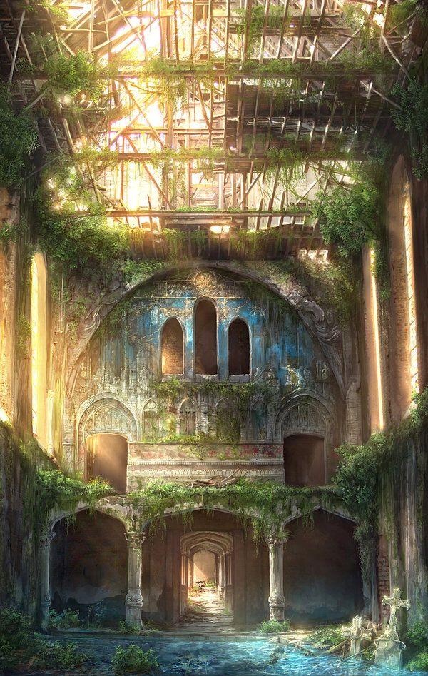 Post Apocalyptic Art by Jonas De Ro via You The Designer
