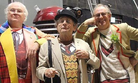 Peter Davison, Colin Baker and Sylvester McCoy unite for Doctor Who spoof The Five(ish) Doctors. IT's half an hour long, but totally worth it.