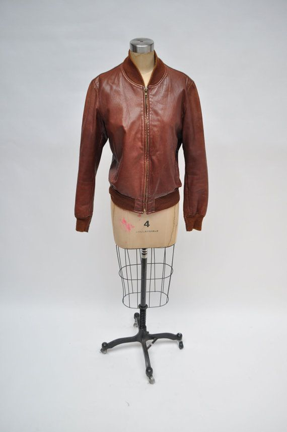 amazing, vintage 1970s leather bomber jacket. michael heller. custom made san francisco.    measurements taken while garment lay flat.