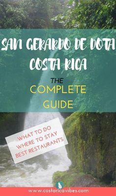 A complete budget guide to the hidden gem, San Gerardo de Dota in Costa Rica. This guide includes activities, places to stay, and the best restaurants.