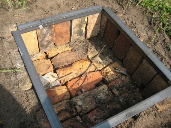 How To Build An In Ground Fire Pit Fire Pit Backyard