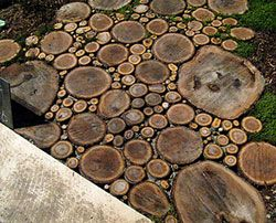 Деревянные дорожки - малый бизнес на скорую руку.