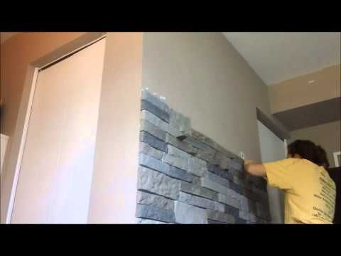 fireplace airstone lowes | airstone wall day 3 you can purchase air stone at