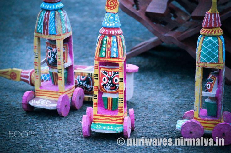 Miniature Jagannath Rath Carts