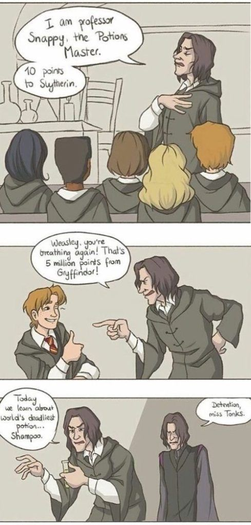 Image about funny in Harry Potter Art by Sydney1479 #ad – #PotterHead #Jokes