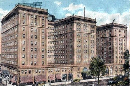 the Southmoor Hotel -- formerly at 67th & Stony Island; now the site of a CHASE Bank