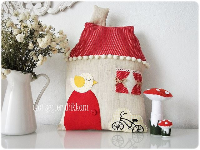 fabric house...