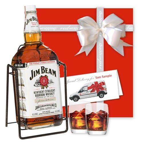 Jim Beam White Label Bourbon Gift 4.5L $350 (AUD)