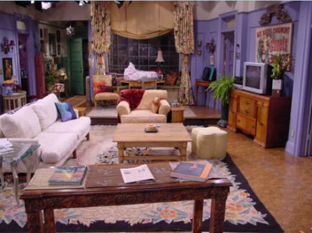 Its very cliche but I always loved the style of Monica's apartment (Friends)