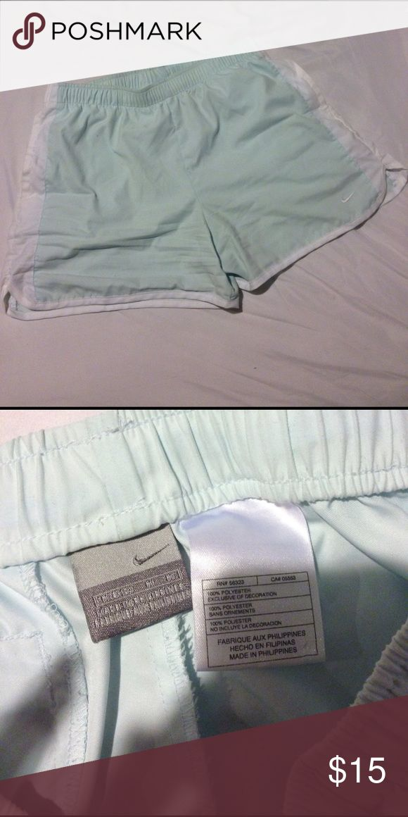 🔥Used🔥Nike Mint Shorts Barely used, no rips or stains Nike Shorts