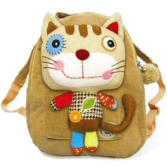 Eco Snoopers Plush Backpack Romeo Kat