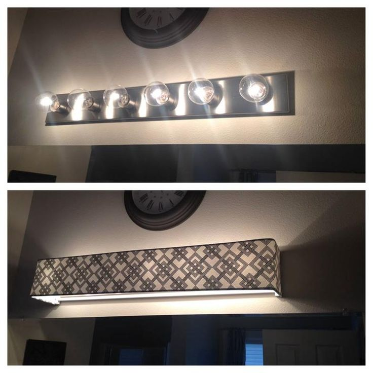 Custom lamp shades - Fabric - Light Covers - Bathroom vanity lighting - News-or-Reviews