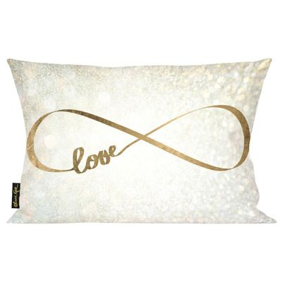 Oliver Gal Oliver Gal Home Sparkle Love Lumbar Pillow & Reviews | Wayfair