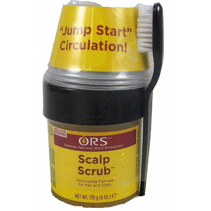 Organic Root Stimulator Scalp SCRUB - 6oz