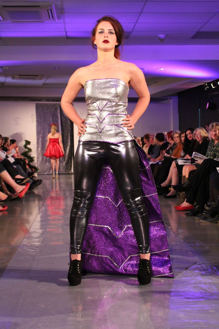 'Attack of The Cybermen' 2013 Hokonui Fashion Design Awards Entry Inspired by the Cybermen from Doctor Who