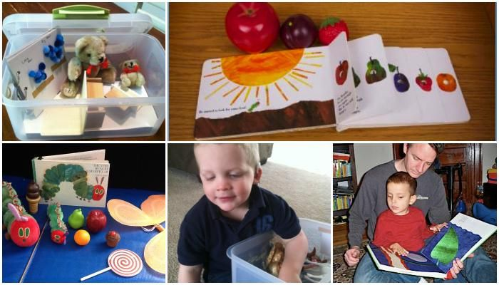 Have you ever made a tactile story box for your blind child?