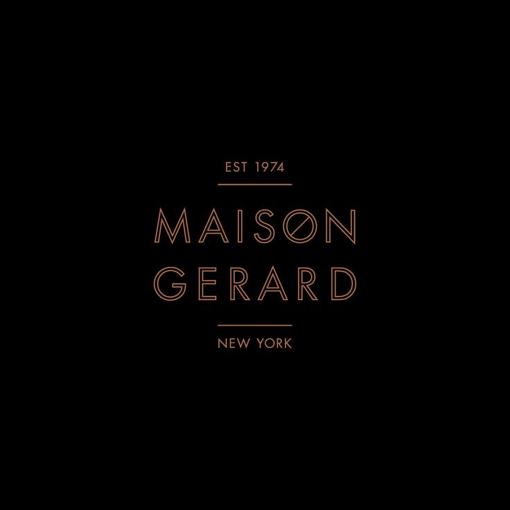 Maison Gerard, by Mother New York