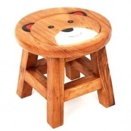I bought this kids chair for my young cousin and itu0027s just great!  Dave bought a Childs Wooden Boy Teddy Stool  sc 1 st  Pinterest & 52 best Childrenu0027s Furniture images on Pinterest | Hand painted ... islam-shia.org