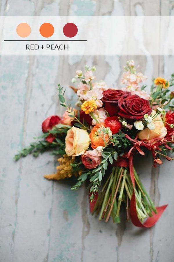 10 palette di colori per un matrimonio autunnale
