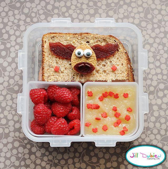 Cute Moose Sandwich!