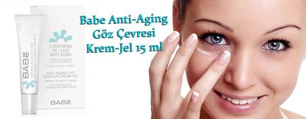 Babe Anti-Aging Göz Çevresi Krem-Jel 15 ml