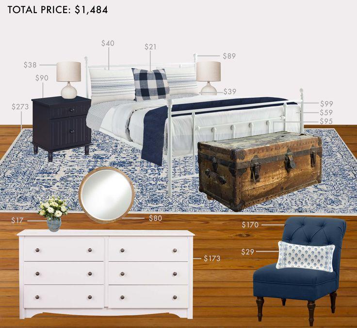 budget room english cottage bedroom
