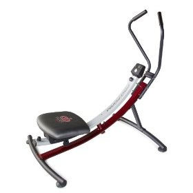 ProForm Ab Glider Sport Ab machine. Heard this works on Dr. Oz