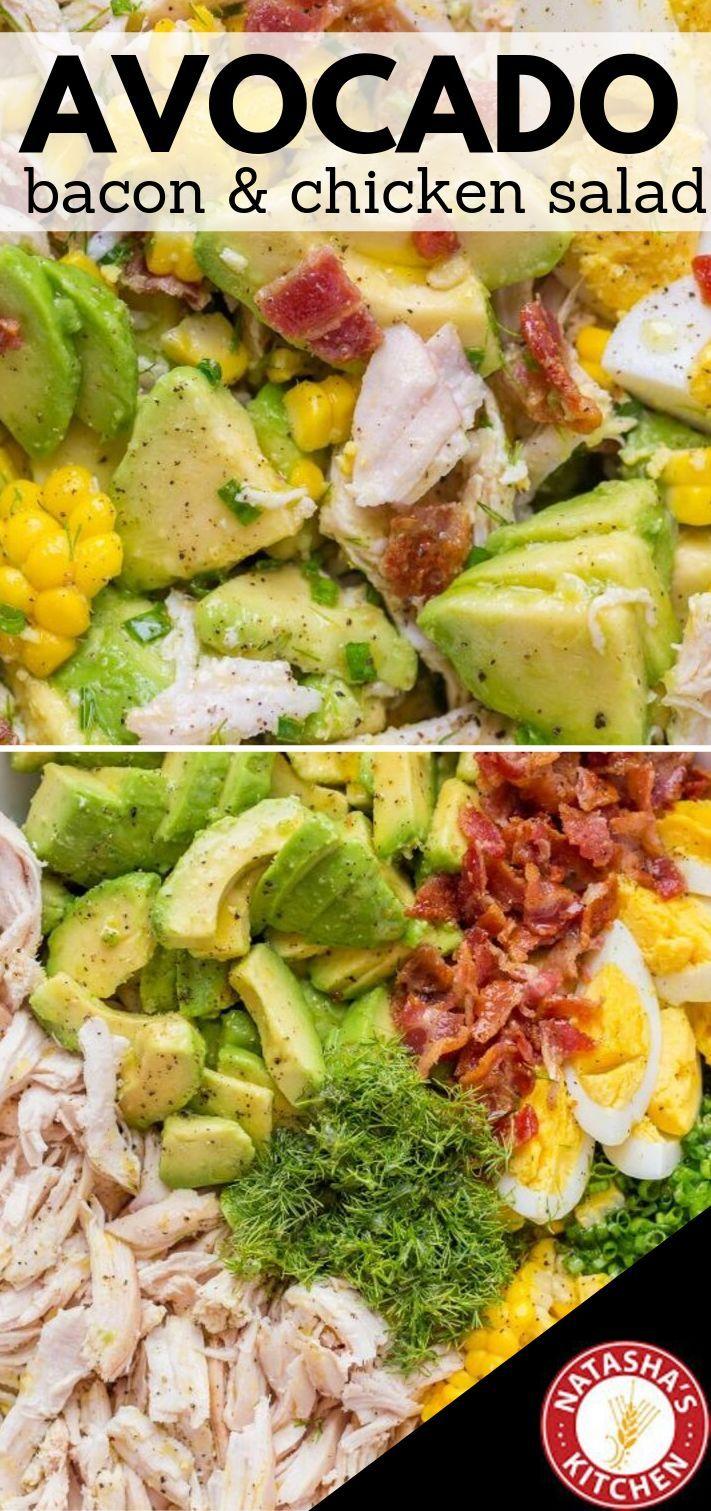 This Avocado Chicken Salad Recipe Has So Much Flavor It S Creamy