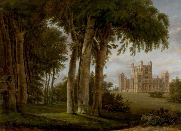 Wollaton Hall, Nottingham by Hendrik Frans de Cort Date painted: c.1795