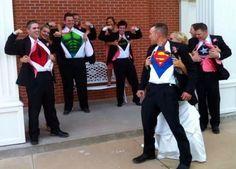 Scherzi matrimonio cerimonia supereroi
