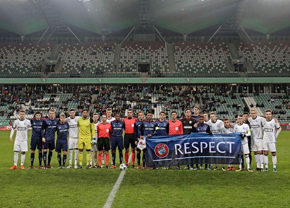 sportcampina: Horaţiu Feşnic a arbitrat în Youth League, Legia V...