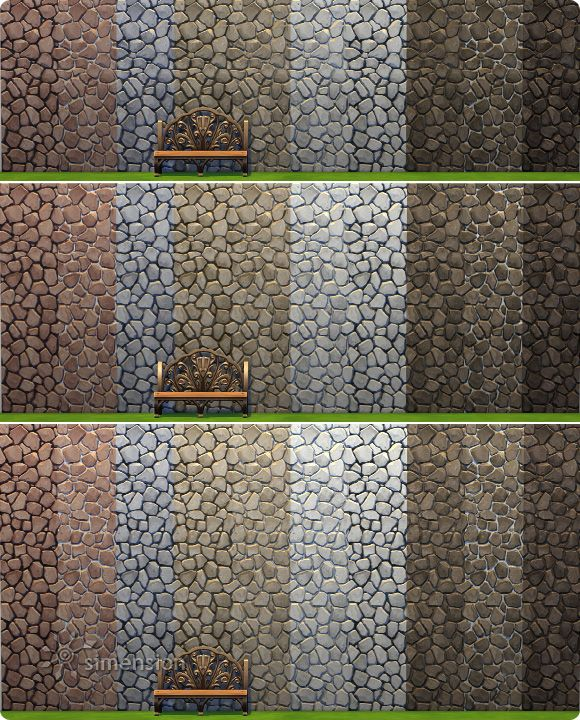 Rustic Stone Walls : Best images about sims b walls floors on