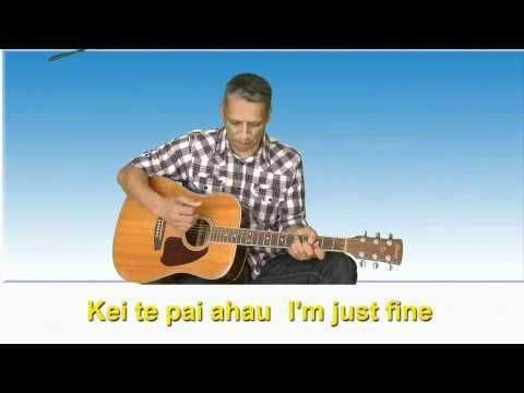 Learn Maori through song▶ Tena koe - hello to one - YouTube