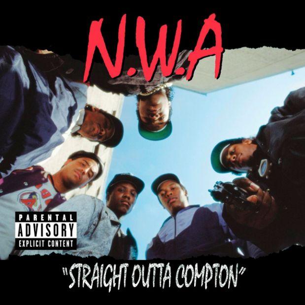 #Fridayclassic - N.W.A. - #StraightOuttaCompton ! #NWA  #Compton #DrDre #IceCube #EasyE #MCREN