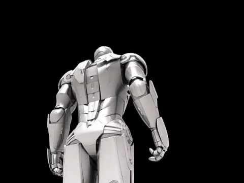 Iron Man Test animation