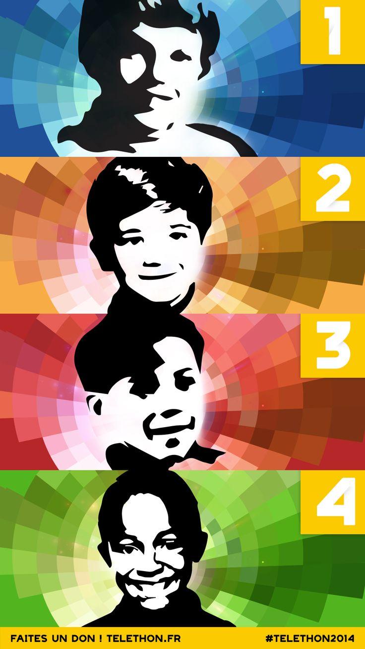 [Facebook] #TBT Journée de l'enfance : lequel de nos artistes #TELETHON2014 reconnaissez-vous ?
