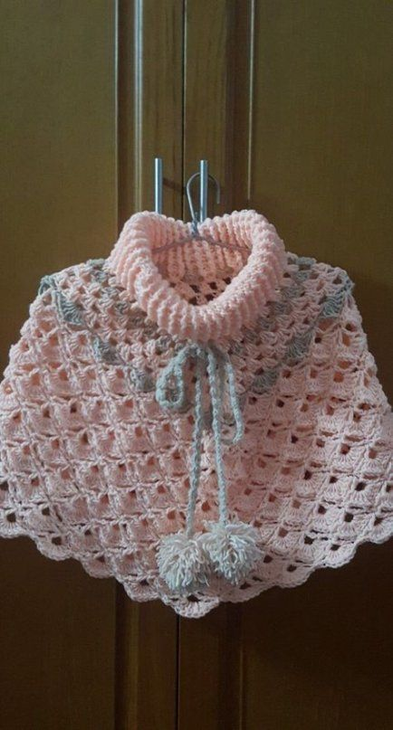 Knitting Baby Poncho Cowl Neck 60+ Ideas For 2019 # ...