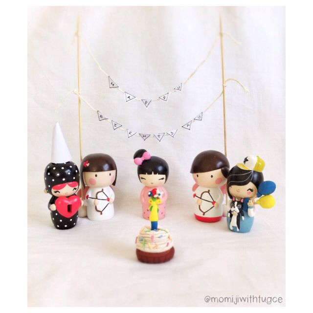 Momiji dolls birthday party