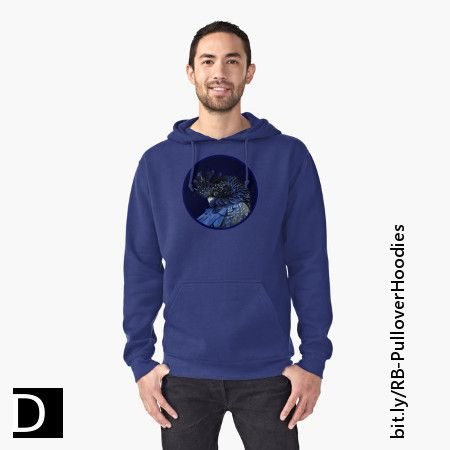 This fun hoodie features an Australian red-tailed black cockatoo with blue-saturated feathers and its head turned over its back with its feathers puffed out. https://www.redbubble.com/people/debidalio/works/11976610-fibonacci-cockatoo?p=t-shirt&style=mhoodie #clothing #clothes #casual #animals #birds #photography #StudioDalio #Redbubble