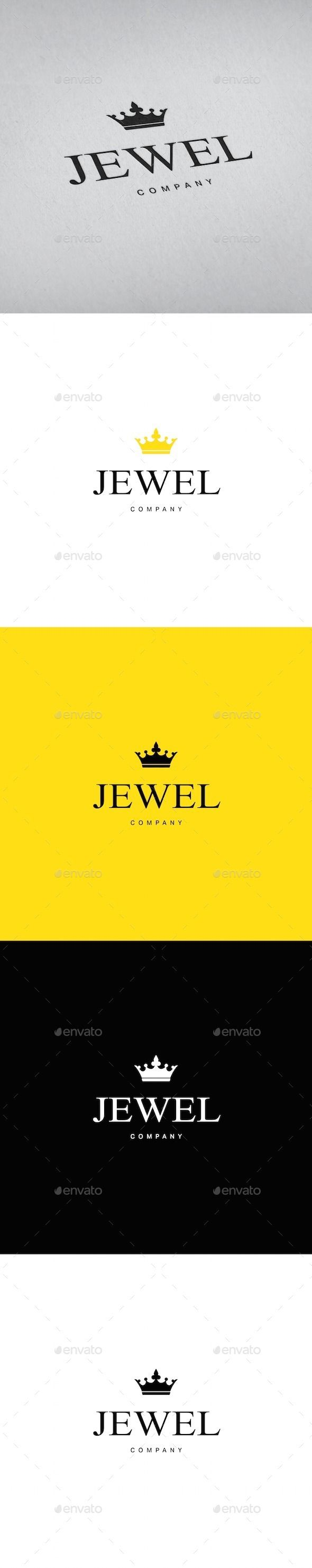 Jewellery Crown  - Logo Design Template Vector #logotype Download it here: http://graphicriver.net/item/jewellery-crown-logo-template/9182609?s_rank=828?ref=nexion