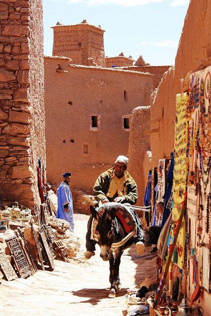 Aït Benhaddou, Ouarzazate, Morocco 2011 by debbieaspin, via Flickr